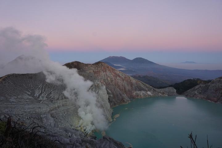 LE VOLCAN KAWAH IJEN,INDONESIE